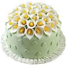 creative calla lilies cake wilton