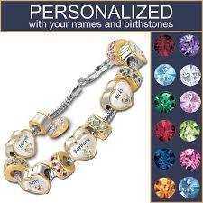 personalized charm s personalized charm bracelet the danbury mint