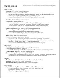 Example Resume For Internship by This Cv Landed Me Interviews At Google And More Than 20 Top