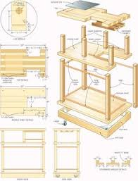 Free Woodworking Furniture Plans Pdf by Free Plans U0026 Directions For A Mission Curio Clock Woodworking