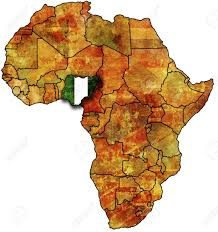 map of nigeria africa flag search nigeria flag