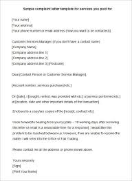 Formal Complaint Letter Against An Employee 15 complaint letters templates hr templates free premium
