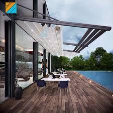 Retractable Awning Pergola Customized Retractable Electric Roof Awning Pergola Awning For