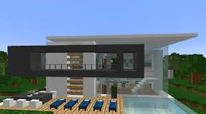 minecraft amazing modern house by the lake youtube