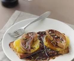 cuisiner du foie foie gras poêlé à la mangue recette de foie gras poêlé à la mangue