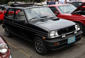 renault fuego black renault lecar information and photos momentcar