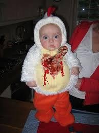 baby in alien halloween costume