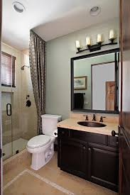 Modern Small Bathroom Modern Small Bathroom Design Plus Wall Mounted Square Glass Mirror