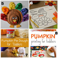 12 thanksgiving activities for toddlers and preschoolers