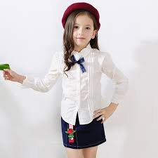 trendy blouses baby blouse white sleeve shirt for teenagers