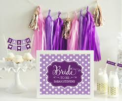 Bridal Shower Signs Personalized Bridal Shower Sign