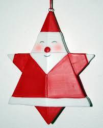 santa origami ornament 4 ins santa origami ornament 4 ins santa
