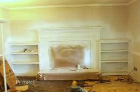 painting a fireplace mantel and surround simply swider