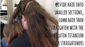 regis nano hair treatment brazillian blow dry tutorial by pinner hair salon pink rose