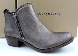 s heel boots size 11 s lucky brand bartalino block heel booties ankle boots zip
