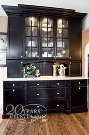 Modern Sideboards And Buffets Kitchen Appealing Black Kitchen Hutch Contemporary Sideboards