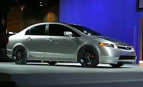 2007 honda civic si sedan concept auto shows news car and driver