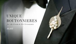 Groom S Boutonniere Planning U0026amp Design News Floral Design Inside Weddings