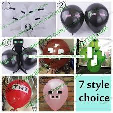 minecraft balloons online shop minecraft balloons tnt balloons minecraft party
