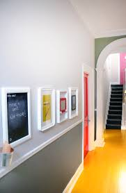 Orange Accent Wall by Office Design Hallway Stairwell Signage Pink Magenta