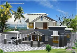 Home Design 3d 2 Storey Incredible 100 2 Story 3d Home Plans 3d Front Elevation Com 1