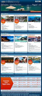 august 2013 flight and travel specials milesaway travel agency