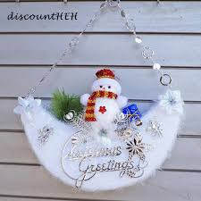 snowman christmas tree moon snowman christmas decorative christmas tree ornaments