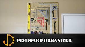 build a pegboard tool organizer 05 youtube