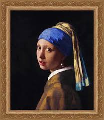 girl with a pearl earrings girl with the pearl earring johannes vermeer framed