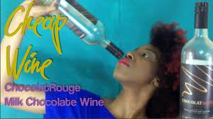 chocolate wine review cheap wine review chocolatrouge milk chocolate wine