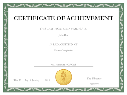 sle certificate of recognition template certificate maker free app