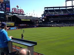 Citi Field Seating Map Video Pictures And Review Of The Mets Party City Deck The Mets