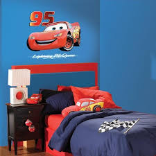 disney cars bedroom disney cars bedroom decor lightning mcqueen giant wall sticker at