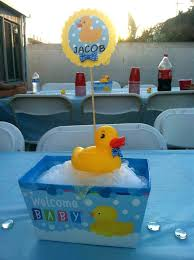 duck decorations rubber ducky baby shower food ideas decoration style baby shower