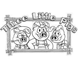 pigs gather living room coloring pages batch