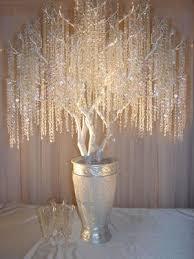 reception manzanita crystal tree centerpieces wedding tree 3