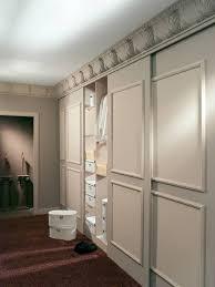 furniture nice looking bedroom closet design using white cream