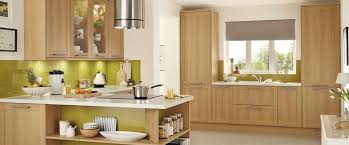 Light Oak Kitchen Kitchen Wooden Cabinets White Worktop Search House