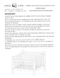 Side Rails For Convertible Crib by Angel Line Convertible Cribs 962 User Manual 1 Page