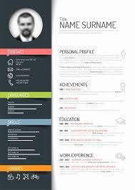 interesting resume templates resume templates free inspirational 25 unique resume templates ideas