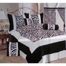 Zebra Bedroom Set Zebra And Cheetah Print Bedding Foter