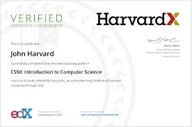 why should i sign up for a verified certificate u2013 edx help center
