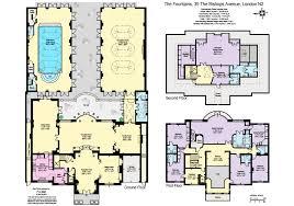 brick home floor plans 15 million palladian style brick mansion in