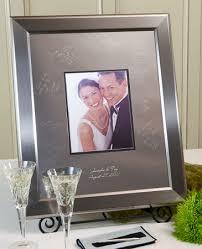 engravable guest book titanium signature frame birthday keepsake