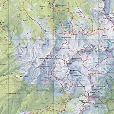 The Alps On World Map by New Mountain Map Kamnik U0027s Alps Map Gallery Cartotalk