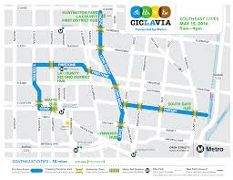 Metrolink Map Los Angeles by Go Metro To Ciclavia Southeast Cities This Sunday The Source