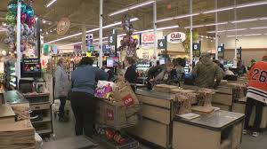 thanksgiving shoppers grab last minute groceries wcco cbs