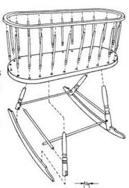 Free Wood Cradle Plans by Cradles And Bassinets Foter