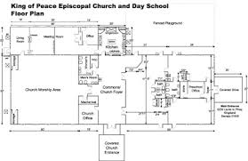 Anglican Church Floor Plan by Irenic Thoughts May 2008