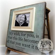 picture frame personalized picture frames custom wedding gift